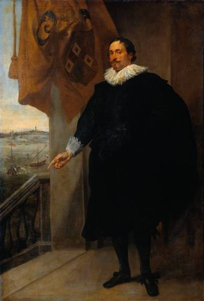 Dyck Anthony van Nicolaes van der Borght Merchant of Antwerp